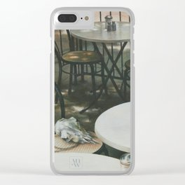 In the Absence of A Dream Clear iPhone Case