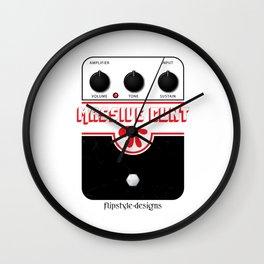 'Massive Cunt' Guitar Pedal Modern Wall Clock