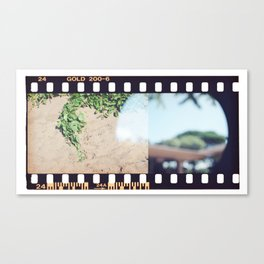 Film End Canvas Print