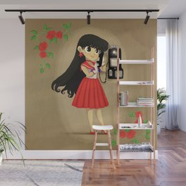 Retro Sailor Mars Wall Mural