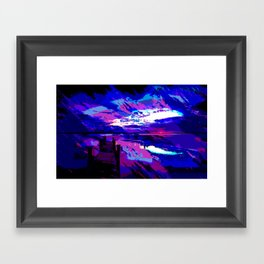 who was dragged down by the stone? Framed Art Print