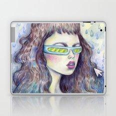 Green Girl Laptop & iPad Skin