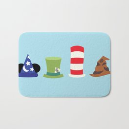 Magic in a Hat Bath Mat