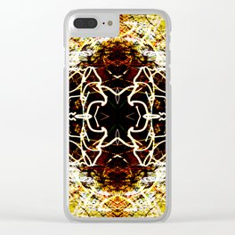 Chaos Tree Kaleidoscope 2 Clear iPhone Case