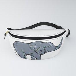 Elephant, Elefan Fanny Pack