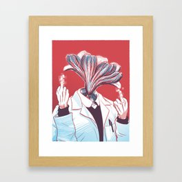 BiYOLOgist Framed Art Print