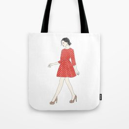 Fashion style illustration Tote Bag