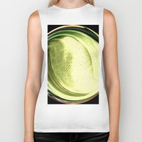 the shining Biker Tanks featuring Shining by Rose Etiennette