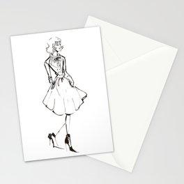 Vintage Lady Stationery Cards