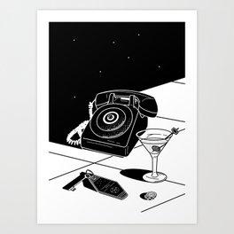 Tranquility Base Hotel + Casino Art Print