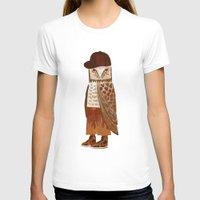 hip hop T-shirts featuring Hip Hop Owl by Santiago Uceda