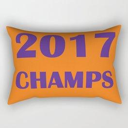 2017 National Champs: Clemson Tigers Rectangular Pillow