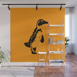 Penguin Patches Wall Mural