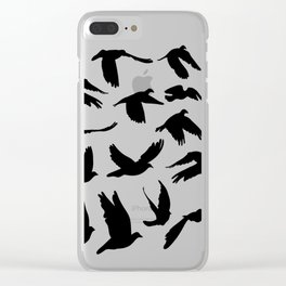 Doves and pigeons Clear iPhone Case
