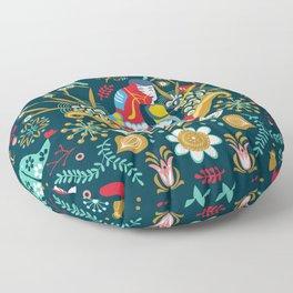 Technological folk art Floor Pillow