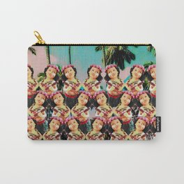 Hula baby girl Carry-All Pouch
