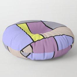 Mondrian #54 Floor Pillow