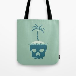 Skull Island – Green Tote Bag