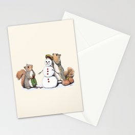 Holiday Trimmings Stationery Cards