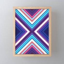 Neon Pond Framed Mini Art Print