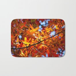 Autumn Leaves in NYC Bath Mat