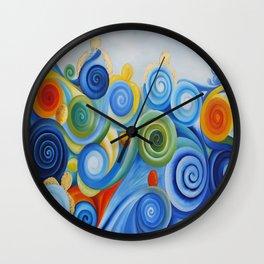 Tortuguitas Wall Clock