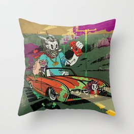 Arch Rival Throw Pillow
