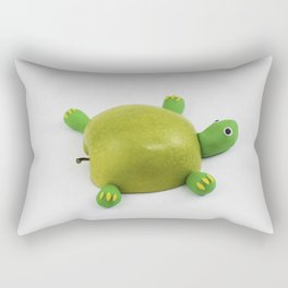 Turtle Apple Rectangular Pillow