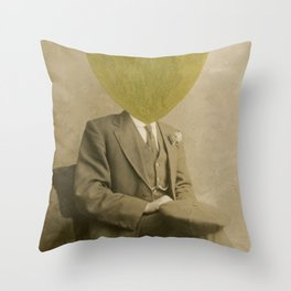 The Golden Lord Throw Pillow
