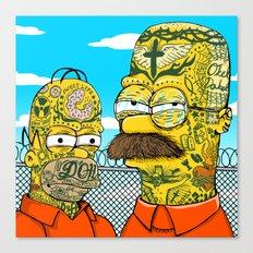 Prison Neighbors Canvas Print