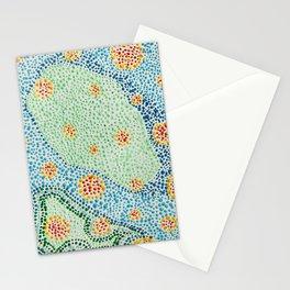 Pointillism II Stationery Cards
