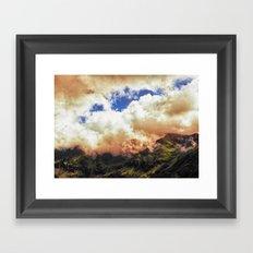 Morning on Fire Framed Art Print