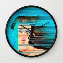 Pixel Push Series: Bridget 4 Wall Clock