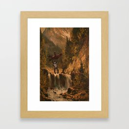 The Sasquatch Framed Art Print