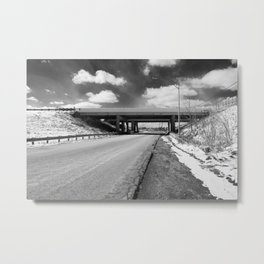 Rock Riffle Rd, Athens, Ohio Metal Print