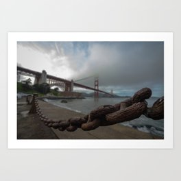 Fort Point Chain Reaction Art Print