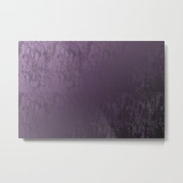 Purple Velvet Metal Print