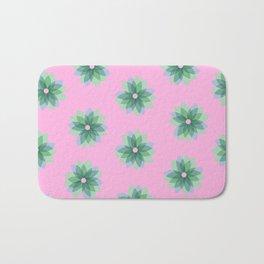Geo Spring Flowers 03 Bath Mat