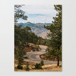 Rocky Mountain Road Trip Canvas Print