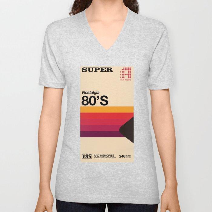 Super Tape Unisex V-Neck