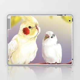 Budgie and Cockatiel Laptop & iPad Skin