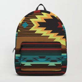 American Native Pattern No. 167 Backpack