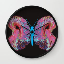 Life is like a butterfly Wall Clock