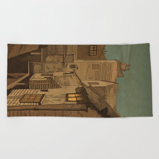 Dusk Beach Towel