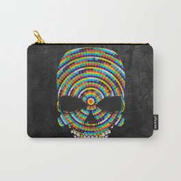 Hypnotic Skull Carry-All Pouch