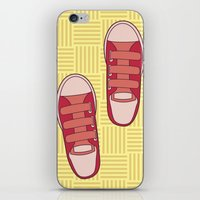 dorothy iPhone & iPod Skins featuring dorothy  by freshinkstain