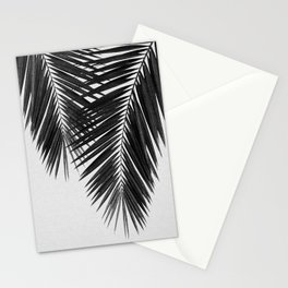 Palm Leaf Black & White II Stationery Cards