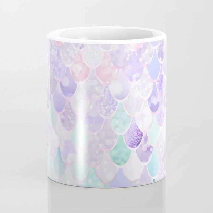 Mermaid Pastel Iridescent Coffee Mug