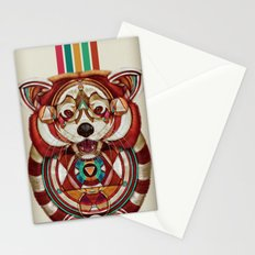 Red Panda by Giulio Rossi Stationery Cards