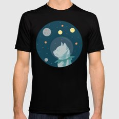 Dreaming about the Space SMALL Black Mens Fitted Tee